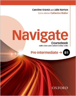 Navigate Pre-Intermediate B1 Coursebook with DVD and Online Skills