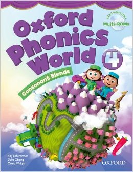 Oxford Phonics World 4 Student Book with MultiROM