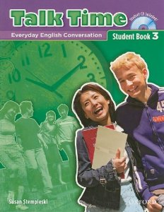 Talk Time 3 Student Book with Audio CD