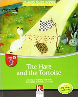 Helbling Young Readers Level A: The Hare and the Tortoise with CD-ROM/Audio CD