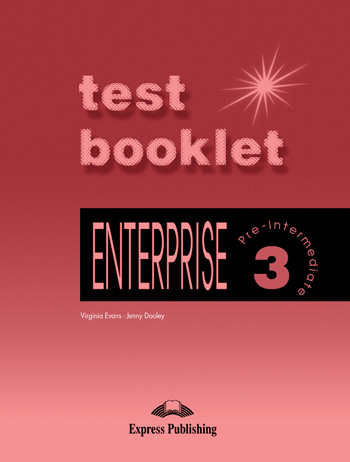 Enterprise 3 Test Booklet with Key