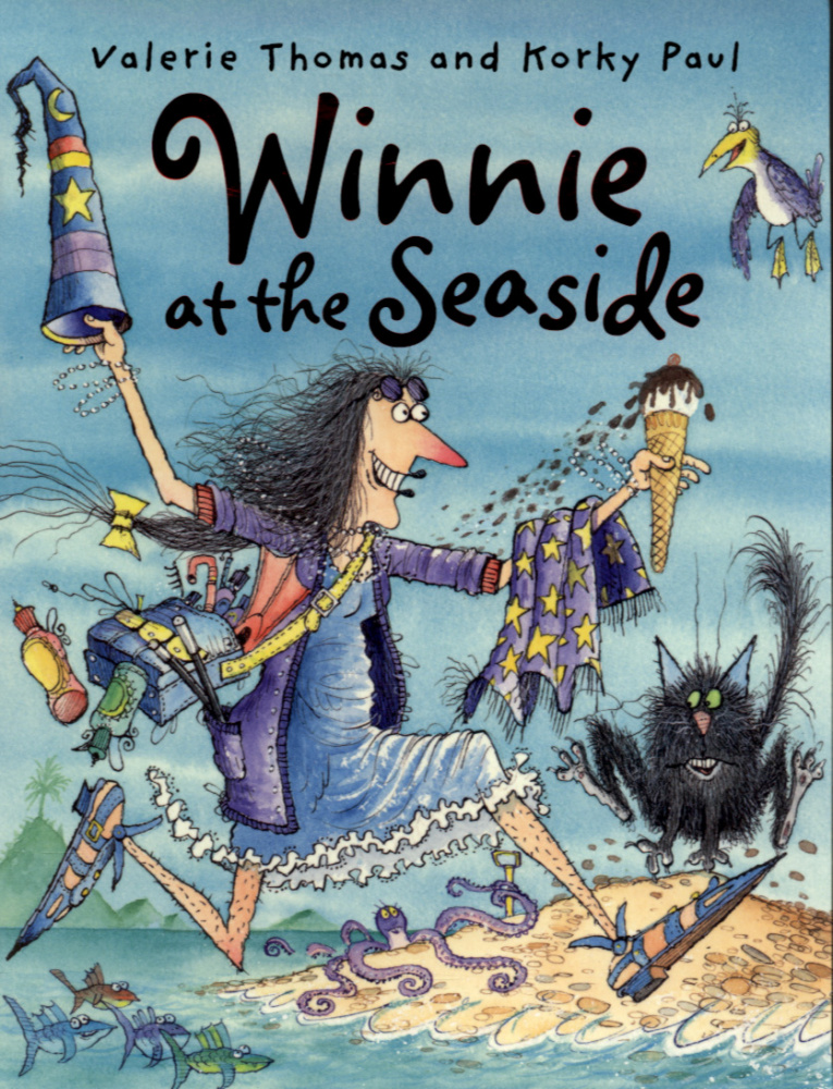 Winnie at the Seaside (Paperback + CD)