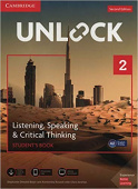 Unlock 2nd edition 2 Listening, Speaking & Critical Thinking Student's Book, Mob App and Online Workbook