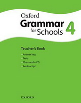Oxford Grammar for Schools 4 Teacher's Book and Audio CD Pack