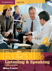 Cambridge English Skills: Real Listening & Speaking Level 4 Book with answers and Audio CDs