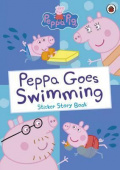 Ladybird: Peppa Pig: Peppa Goes Swimming (Sticker Story Book)