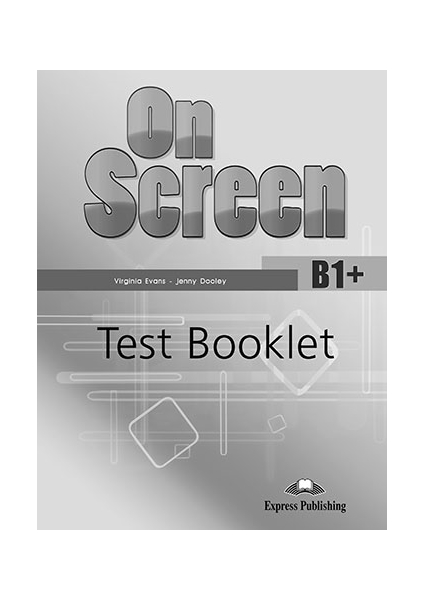 On Screen Revised B1+ Test Booklet