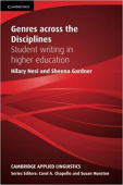 Genres across the Disciplines: Student Writing In Higher Education