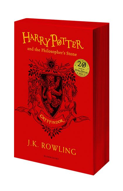 Harry Potter and the Philosopher's Stone (Gryffindor Edition) - Paperback