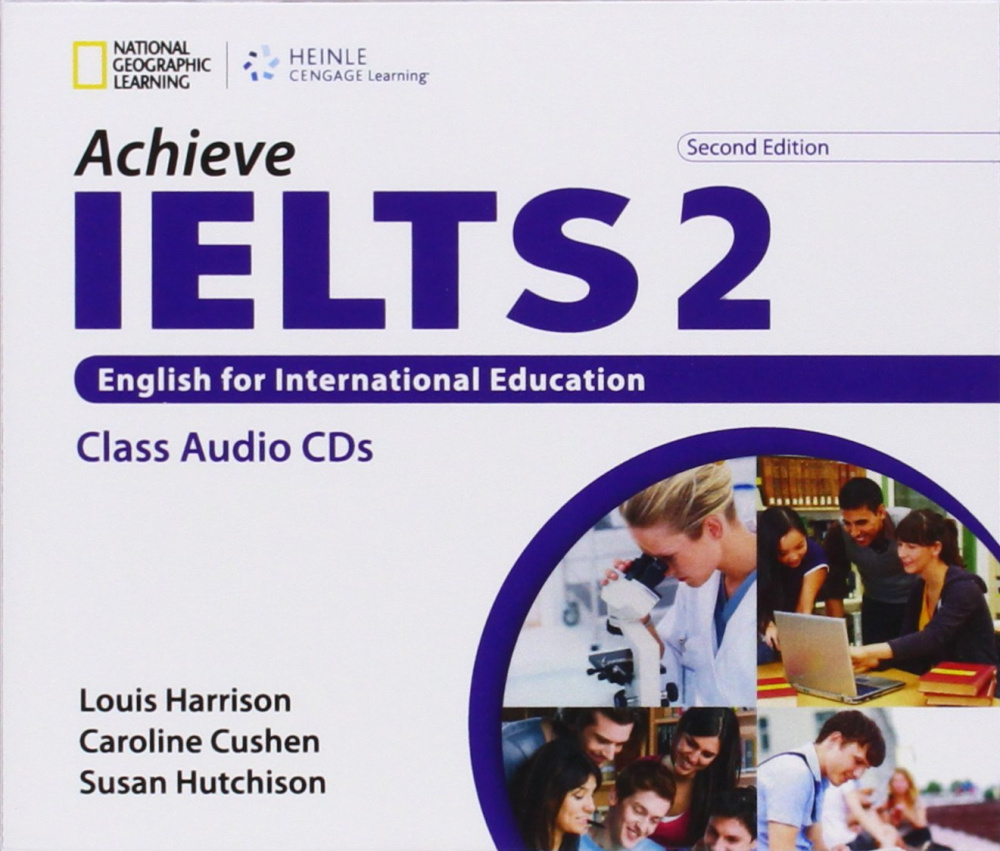 Achieve IELTS 2nd Edition 2 Band 5,5 - 7,5 Class Audio CD (2)  Upper Intermediate to Advanced