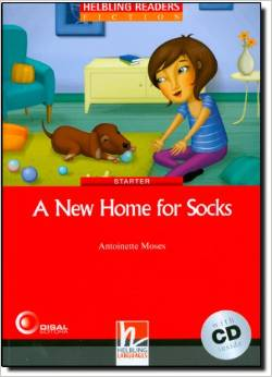 Red Series Fiction Level 1: A New Home for Socks + CD