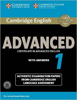 Cambridge English Advanced 1 (for revised exam 2015) Student's Book Pack (Student's Book with Answer