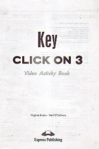 Click On 3 Video Activity Book Key