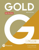 Gold New Edition B1+ Pre-First Student's Book with MyEnglishlab Internet Access Code