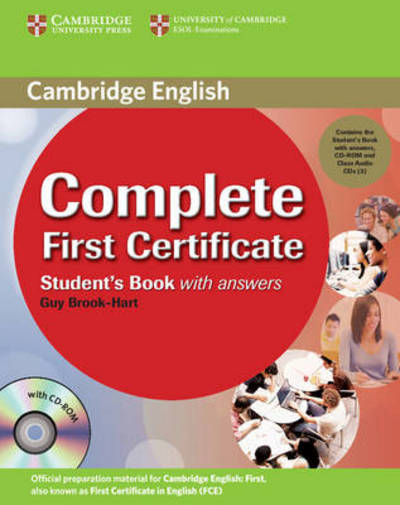 Complete First Certificate Student's Book Pack (Student's Book with answers with CD-ROM and Class Audio CDs (3))