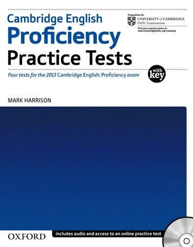 Cambridge English: Proficiency (CPE) Practice Tests with Key and Audio CDs Pack