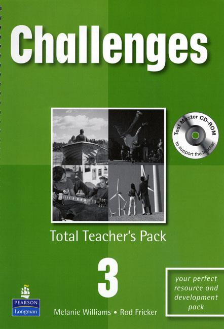 Challenges Level 3 Total Teachers Pack & Test Master CD-Rom