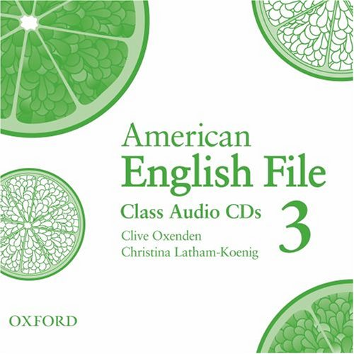 American English File 3 Class Audio CDs (3)