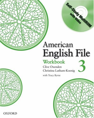 American English File 3 Workbook with MultiROM