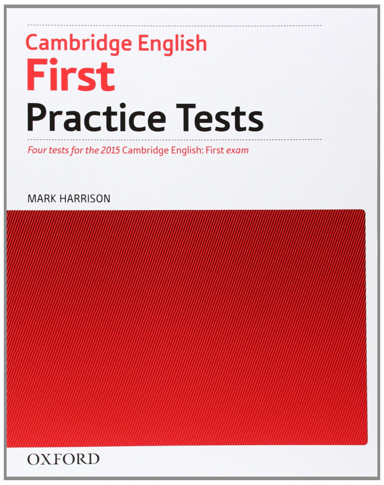 Cambridge English First Practice Tests: Without Key