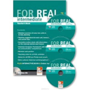 For Real Intermediate Teacher's Pack (TB + TRB) with CD/CD-ROM