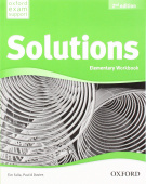 Solutions Second Edition Elementary Workbook with Student's Site