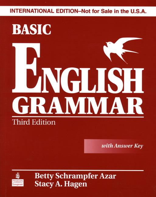 Basic English Grammar 3rd Edition (Azar Grammar Series) Student Book (with Key) and Audio CD