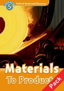 Oxford Read and Discover Level 5 Materials to Products Audio CD Pack