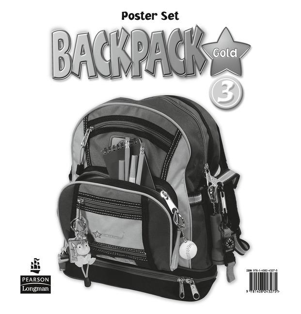 Backpack Gold Level 3 Posters