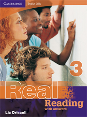 Cambridge English Skills: Real Reading Level 3 Book with answers