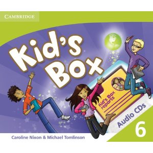 Kid's Box Level 6 Class Audio CD (3) (Лицензия)