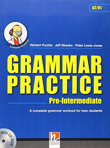 Grammar Practice Pre-Intermediate with CD-ROM (Helbling Languages)