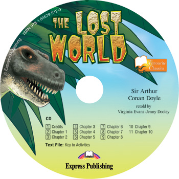 Favourite Classic Readers Level 3 The Lost World - Audio CD