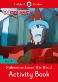 Ladybird: Transformers: Sideswipe Loses His Head Activity Book