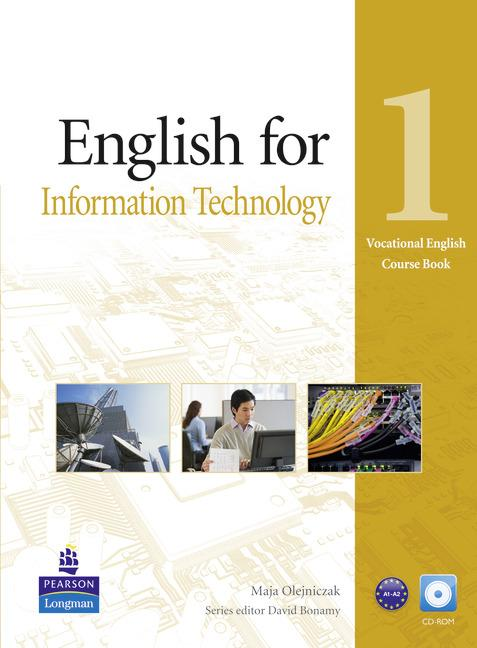 Vocational English Level 1 (Elementary) English for IT Coursebook (with CD-ROM)
