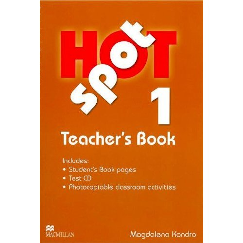 Hot Spot 1 Teacher's Book + Test CD