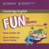 Fun for Movers 4th Edition Class Audio CD (Лицензия)
