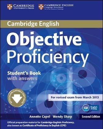 Objective Proficiency (Second Edition) Student's Book with answers with Downloadable Software