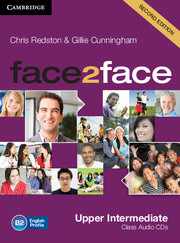 face2face (Second Edition) Upper-intermediate Class Audio CDs (3) (Лицензия)