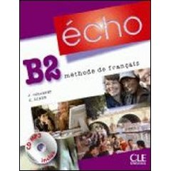 Echo B2 - Livre de l'eleve + Portfolio + CD-mp3