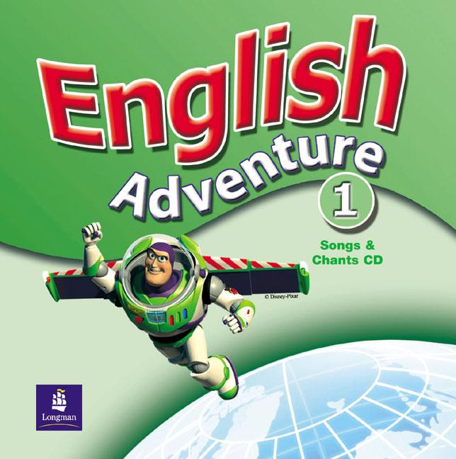 English Adventure 1 Songs CD