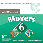 Cambridge Young Learners English Tests Movers 6 Audio CD (Лицензия)