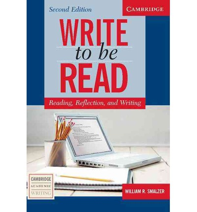 Write to be Read Second Edition Student's Book: Reading, Reflection, and Writing