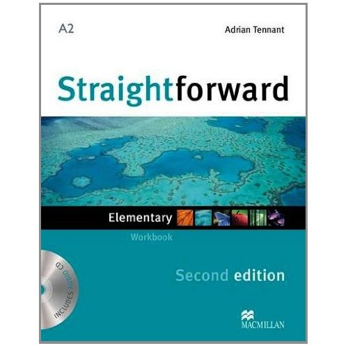 Straightforward (Second Edition) Elementary Workbook without Key + CD