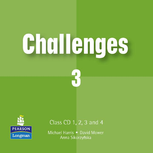 Challenges Level 3 Class CDs (4) (Лицензия)