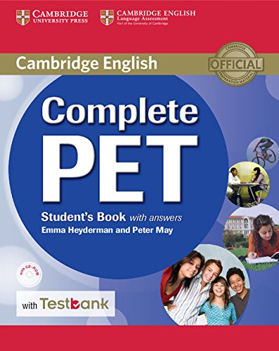 Complete PET Student's Book with answers with CD-ROM with Testbank
