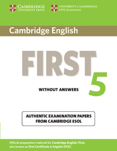 Cambridge English First 5 Student's Book without answers