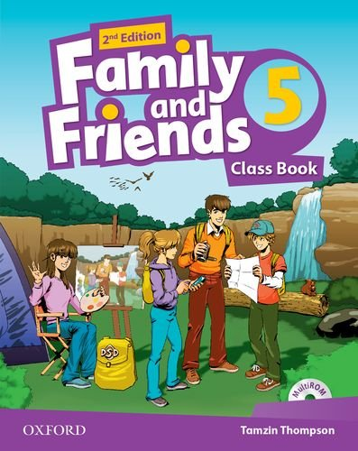 Family and Friends Second Edition 5 Class Book and multiROM Pack