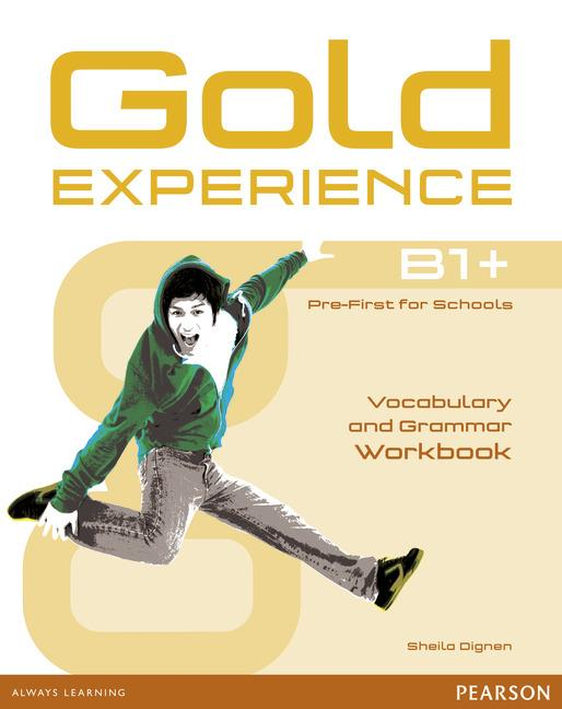 Gold Experience B1+ Grammar & Vocabulary Workbook without key