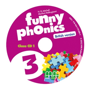 Funny Phonics 3 Class CD/CD-ROMs (British version)